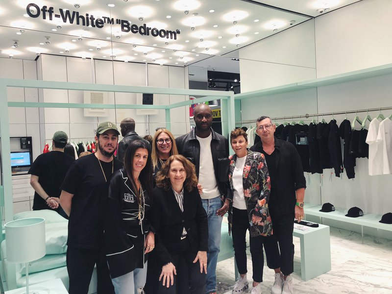 Virgil Abloh Celebrates New Off-White \