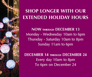 Holiday Hours Homepage