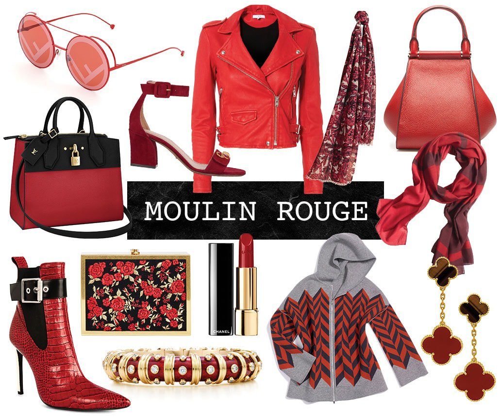 Moulin Rouge Fall 2017 Editorial