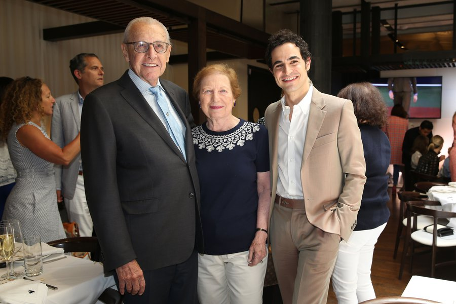 half off new collection picked up Zac Posen Hosts Fashion Show Luncheon for Brooks Brothers ...